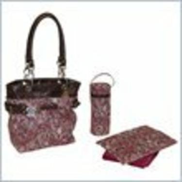 Kalencom Midi Ultimate Tote - Paisley Pink