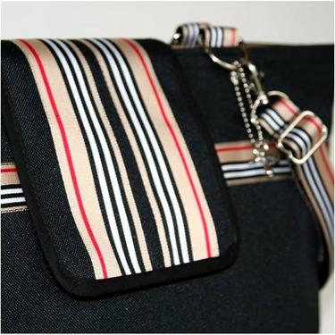 Black Classic Cambridge Diaper Bag