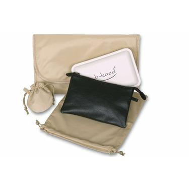 Baby Kaed - B-kaed Leather Jaipur Diaper Bag in Night