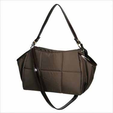 Mia Bossi MB1001 Katie Diaper Bag in Brownie