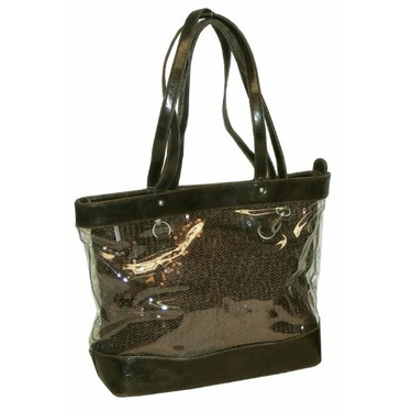 2 IN 1 Bag Sequin Brown