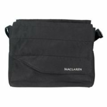 Maclaren Grand Tour Messenger Bag: Black