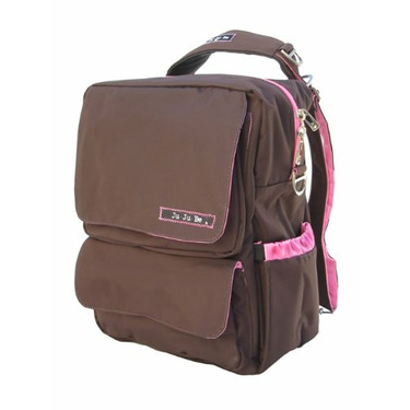 Ju Ju Be - PackaBe Diaper Bag in Brown Bubblegum