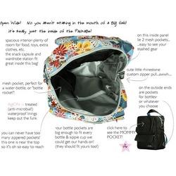 Ju Ju Be - PackaBe Diaper Bag in Brown Bubblegum