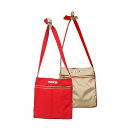 Ju Ju Be - Be Light Diaper Bag in Cinnamon & Champagne