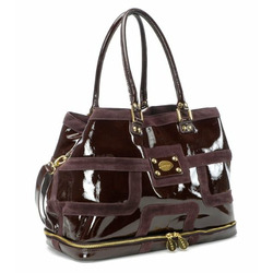 Mercer Diaper Bag in Wine Tonal