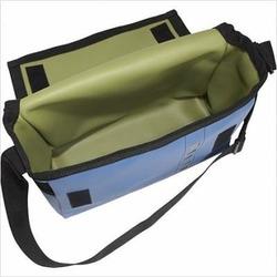 Holly Aiken 117-ATO Airship Diaper Messenger Bag in Atomic Design Color: Space Blue & Avocado Green
