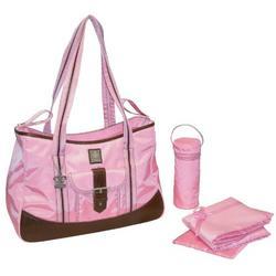 Weekender Diaper Bag in Power Pink