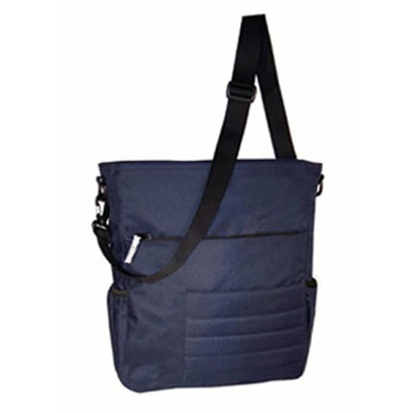 Madison Avenue Diaper Bag Navy with Treasure Map Lining