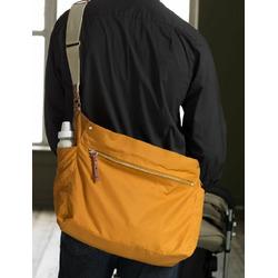 Navy Sullivan Messenger Diaper Bag