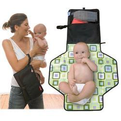 Pronto Diaper Bag in Black