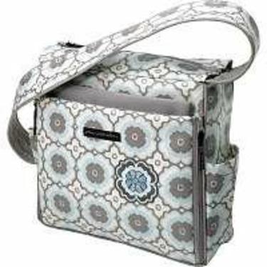 Petunia Pickle Bottom Shoulder Diaper Bag Sleepy Santorini