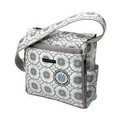 Petunia Pickle Bottom Shoulder Diaper Bag Sleepy Santorini