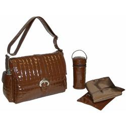 Monique Diaper Bag in Chocolate