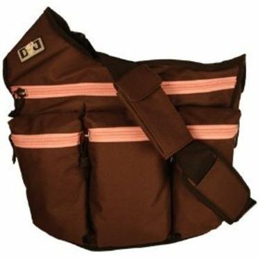 NEW! Diaper Dude - Brown/Pink Diva Bag