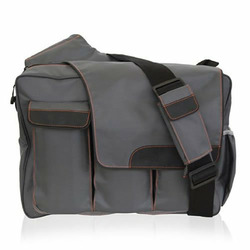 Diaper Dude Messenger II in Grey