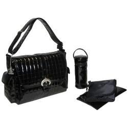 Monique Diaper Bag in Black