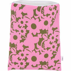 Wet Happened? Diaper Bag- Pink Flowers