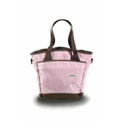 Fleurville Slingtote in Pink Chocolate