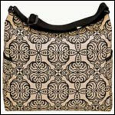 OiOi Moroccan Sand Hobo Diaper Bag