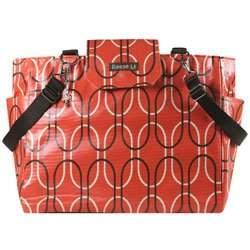 Orange Capsule Lexington Diaper Bag