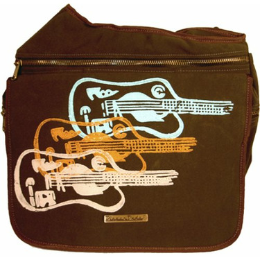 Diaper Dude Diaper Bag, Ultrasuede Guitars plus FREE Stroller Straps
