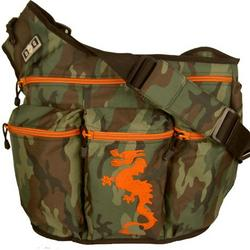 Diaper Dude Camouflage with Dragon Diaper Bag