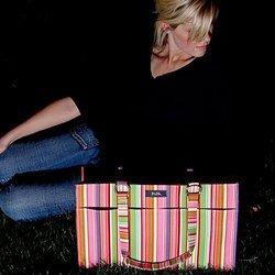Diaper Bag - Candy Stripes