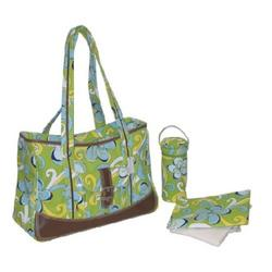 Kalencom Week-Ender Bag - Flower Power Blue