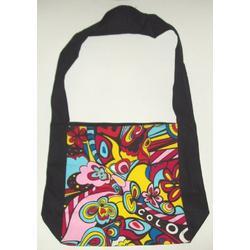 Psychedelic Messenger Bag or Mini Tote Bag