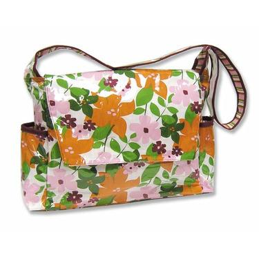 Messenger Diaper Bag - Floral
