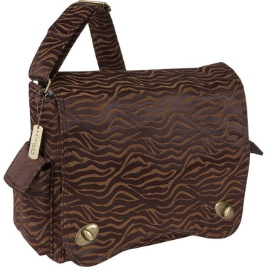 Scallop Messenger Bag - Safari Fantasy