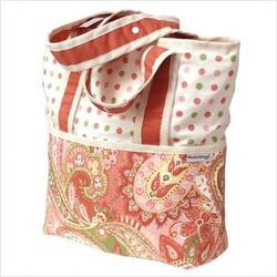 Paisley Tote Diaper Bag