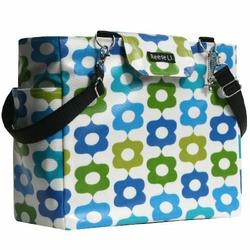 Blue Festival Lexington Diaper Bag