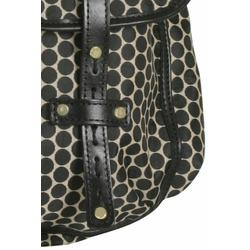 Mia Bossi Black Bean Reese Diaper Bag