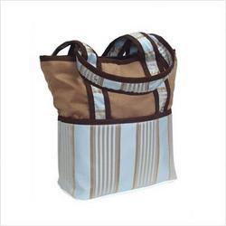 Bella Blue Tote Diaper Bag