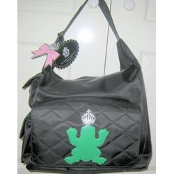 MY FLAT IN LONDON DIAPER BAG GREEN BEE 3 POCKETS