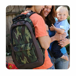Diaper Dude DudePack Backpack in Brown