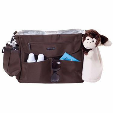 Lillebaby Oslo Diaper Bag in Chocolate Brown
