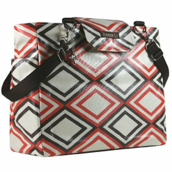 Orange Diamond Lexington Diaper Bag