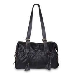 Shanti Diaper Bag in Black