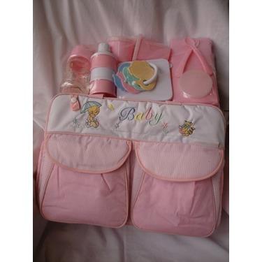 Pink, Diaper Bag Gift Set