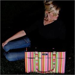 Candy Stripes Diaper Bag