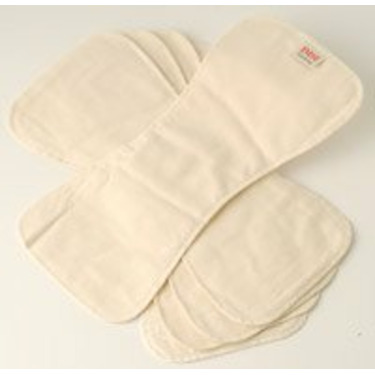 Imse Vimse Booster Pads-5 Pack Organic Cotton Flannel
