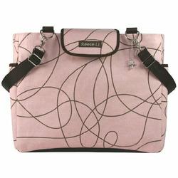 Cherry Doodle Lexington Diaper Bag by Reese Li