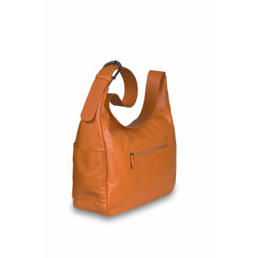 Baby Kaed Masala Diaper Bag in Tangerine