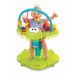 Fisher-Price SpaceSaver Bounce 'n Spin Froggy