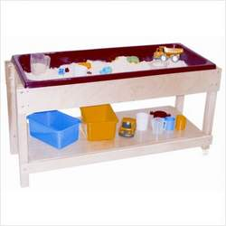 Sand and Water Table with Top and Shelf