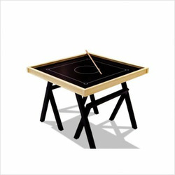Bob Game Table in Black