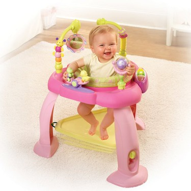 Bright Starts Bounce Bounce Baby Activity Zone - Pink